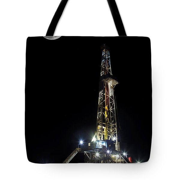 Moon Over Latshaw 10 Tote Bag