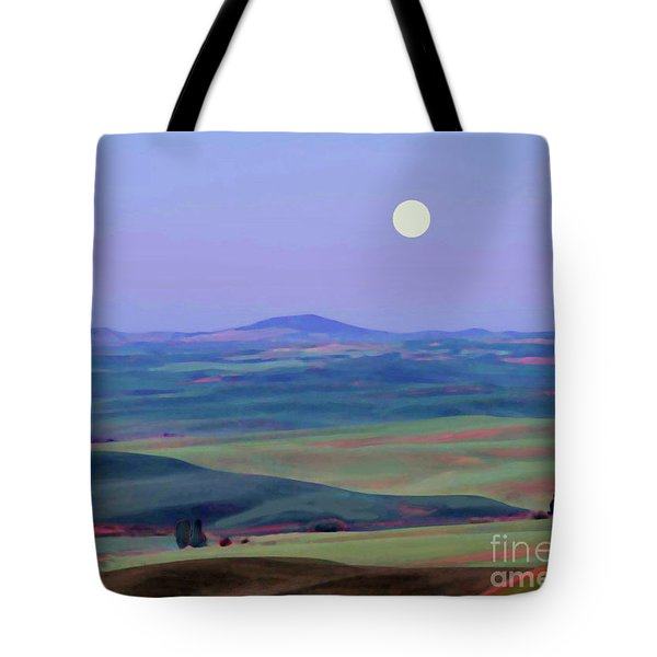 Moon Over Mountain 1 Tote Bag
