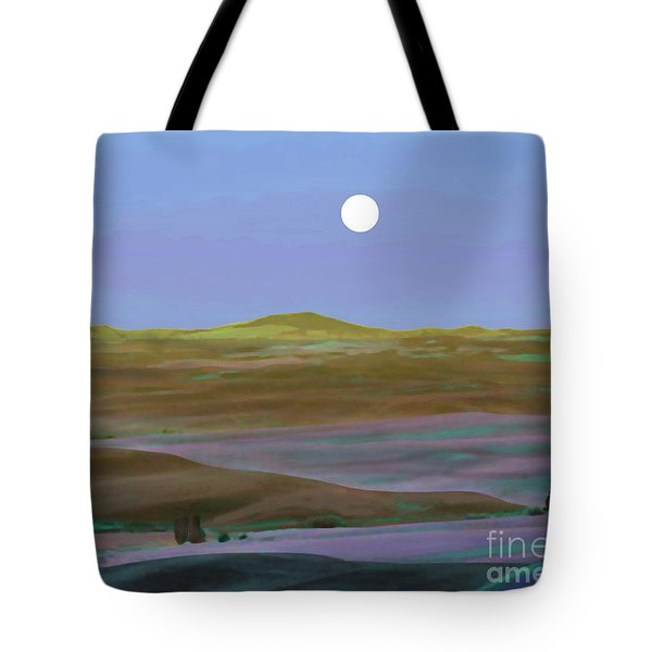 Moon Over Mountain 2 Tote Bag