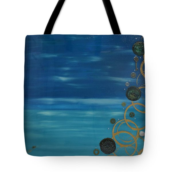 Moon Over Water Tote Bag