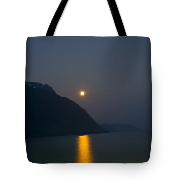 Moon Path Tote Bag