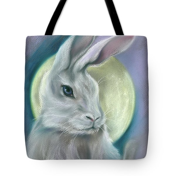 Moon Rabbit Tote Bag