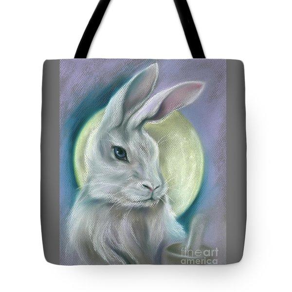 Moon Rabbit Tote Bag