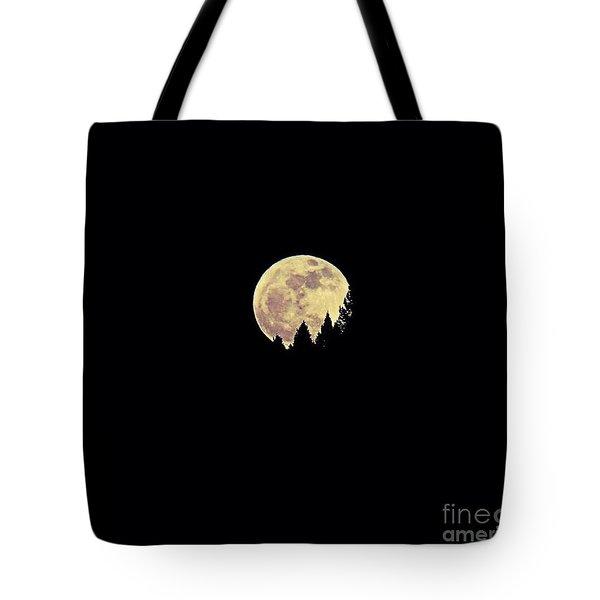Moon Rising Tote Bag