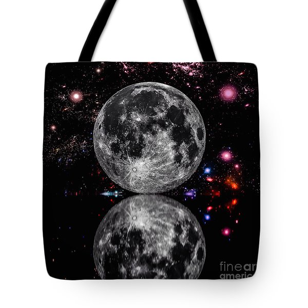 Moon River Tote Bag by Naomi Burgess