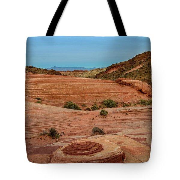 Moon Rock Tote Bag