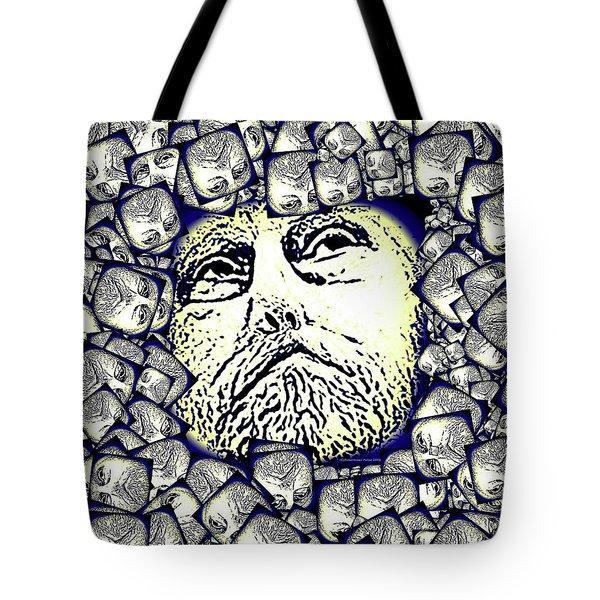 Moon Rocks Tote Bag by Tobeimean Peter