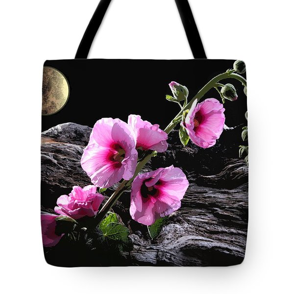Moon Scape Tote Bag by Manfred Lutzius