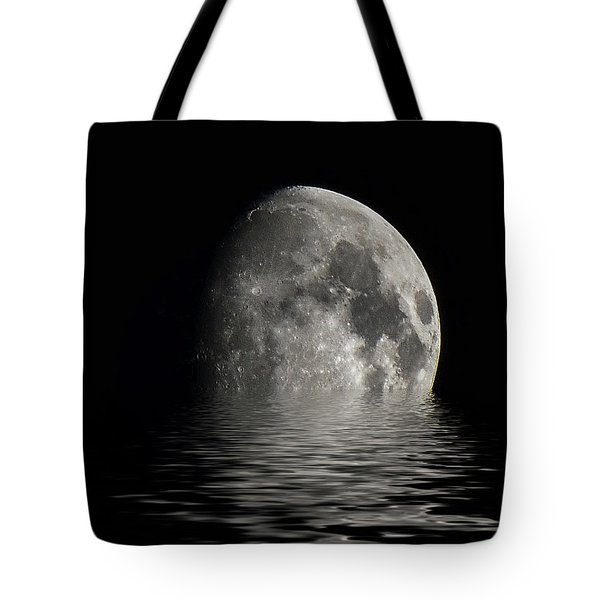 Moon Set... Tote Bag