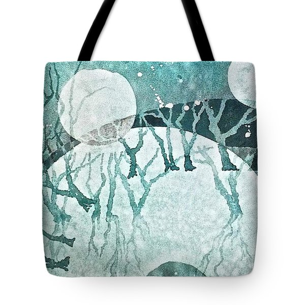 Moon Shadows Tote Bag