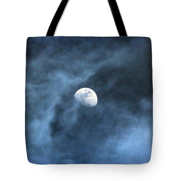 Moon Smoke Tote Bag