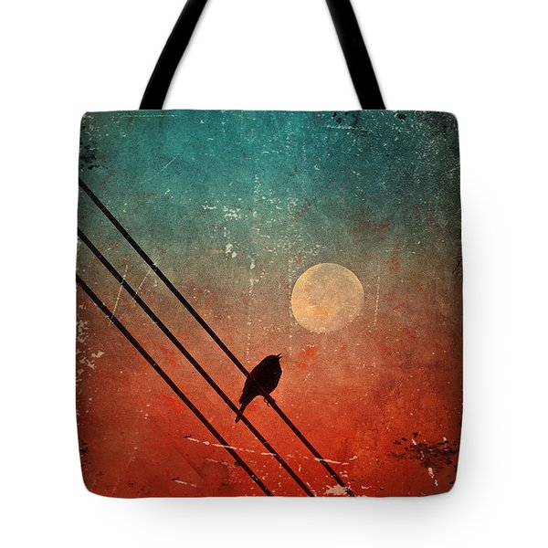 Moon Talk Tote Bag