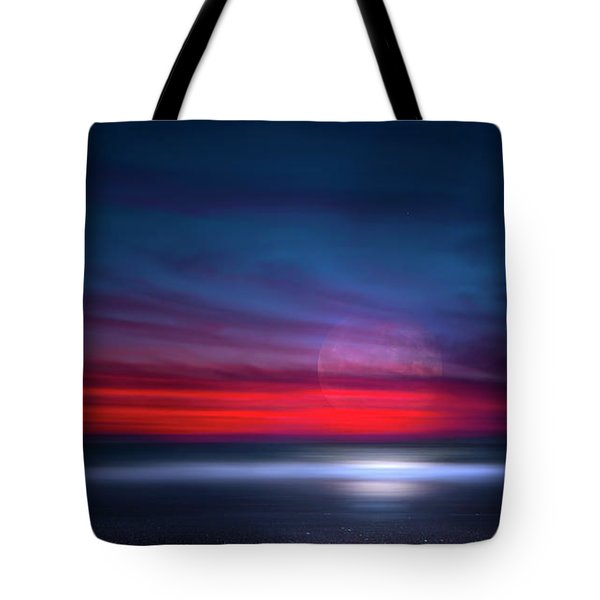 Moon Tide Tote Bag by Mark Andrew Thomas