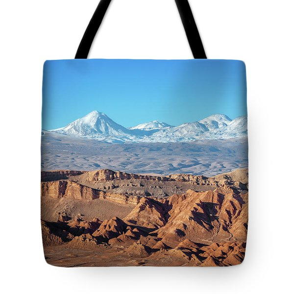 Moon Valley Atacama Desert Tote Bag
