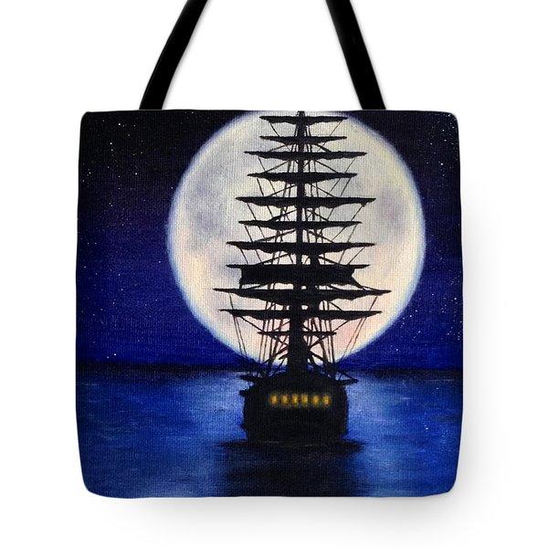 Moon Voyage Tote Bag