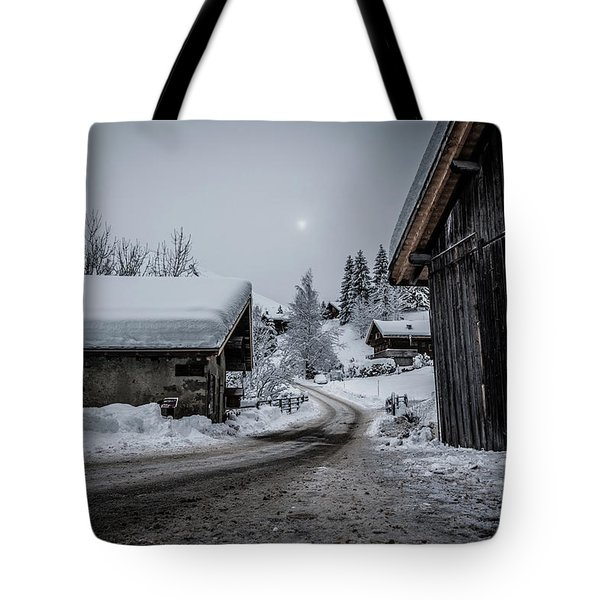 Tote Bag featuring the photograph Moon Walk- by JD Mims