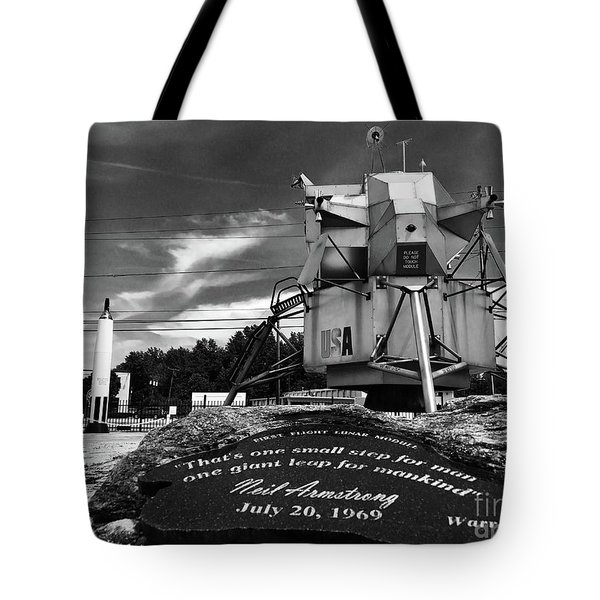 Moon Walker Tote Bag