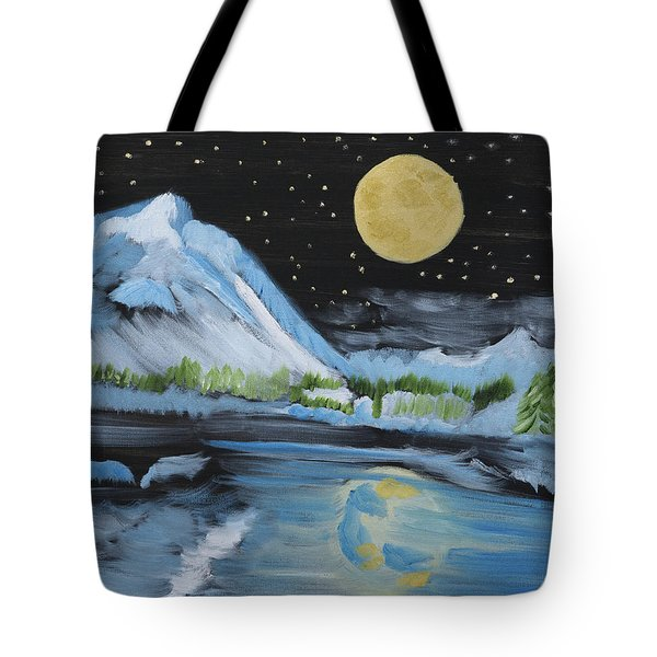 Moon Wishes Tote Bag
