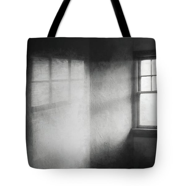 Moonbeams On The Attic Window Tote Bag