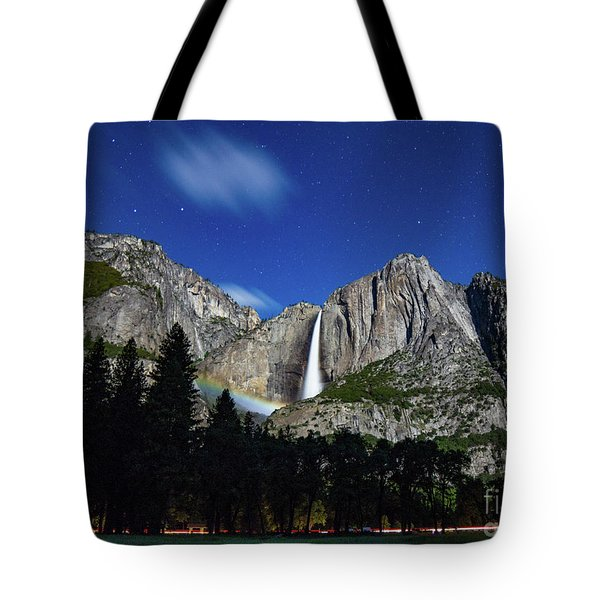 Moonbow And Louds  Tote Bag
