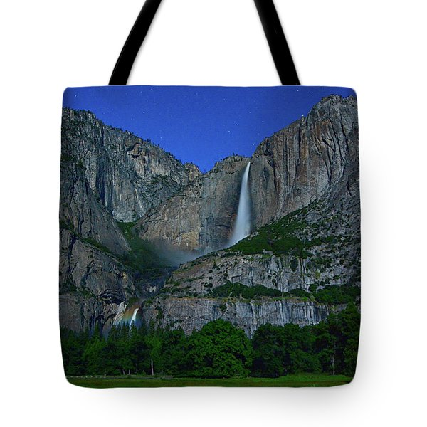 Moonbow Yosemite Falls Tote Bag