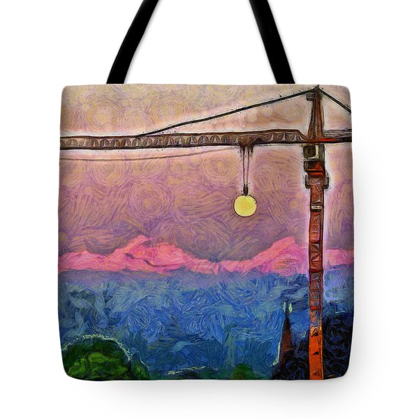 Mooncrane - Da Tote Bag