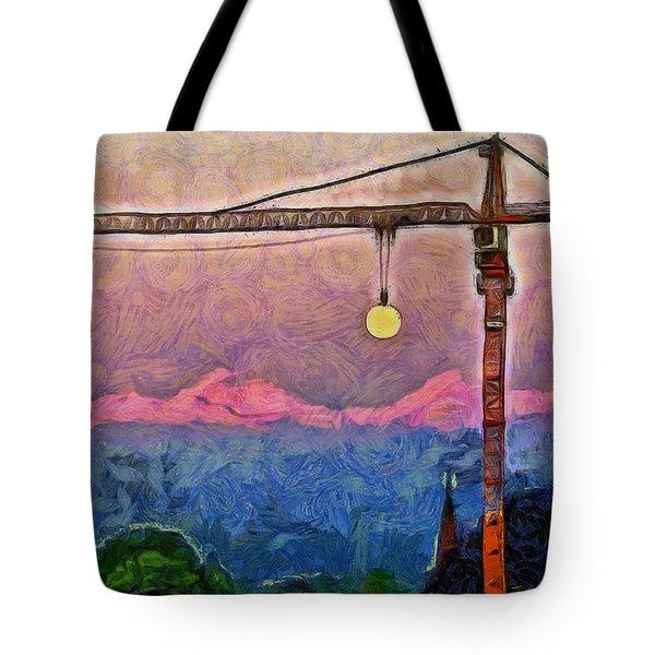 Mooncrane - Pa Tote Bag