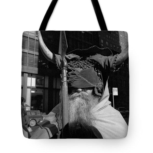 Moondog Nyc Tom Wurl Tote Bag