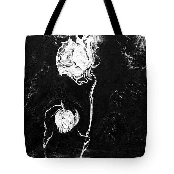 Moonlight And Roses Tote Bag
