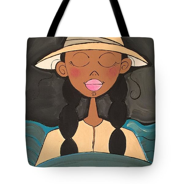 Moonlight Baptismal  Tote Bag