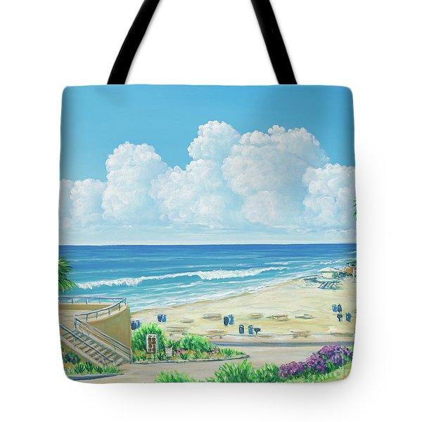 Moonlight Beach Tote Bag