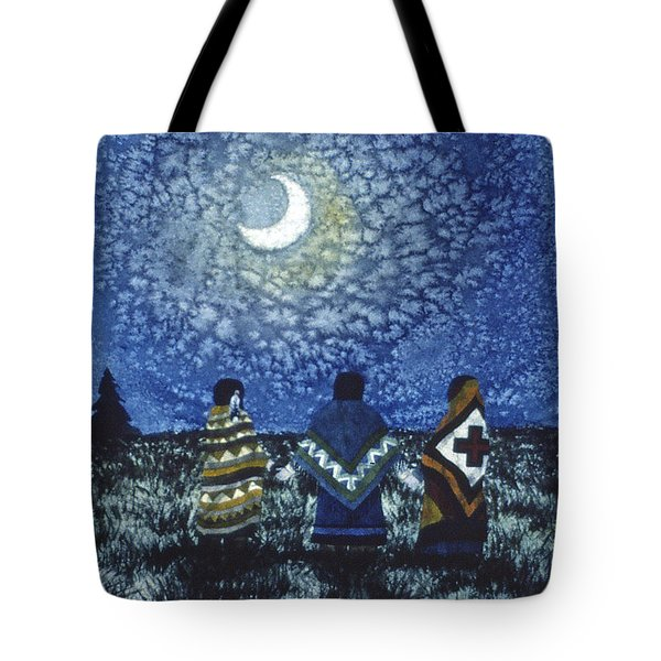 Moonlight Counsel Tote Bag