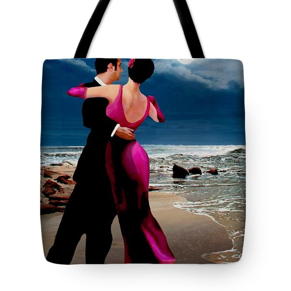Moonlight Dance V2 Tote Bag by Ron Chambers