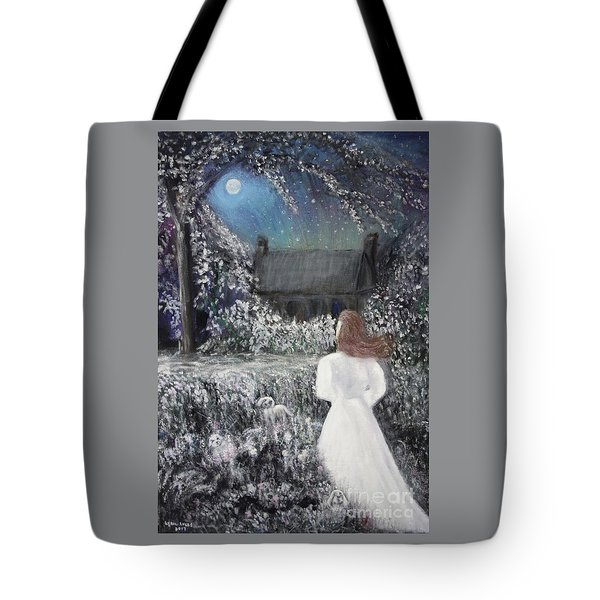 Moonlight Garden Tote Bag