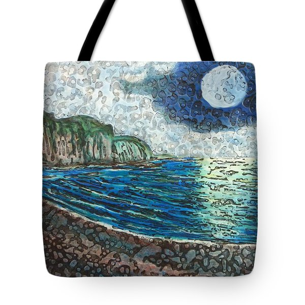 Moonlight In Pourvill Tote Bag