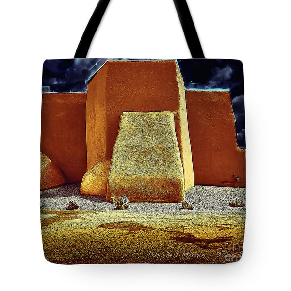 Moonlight In Ranchos Tote Bag