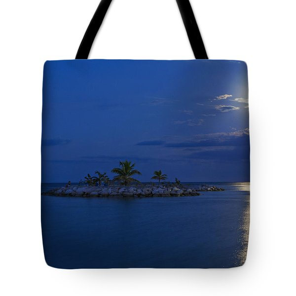 Moonlight Island Tote Bag