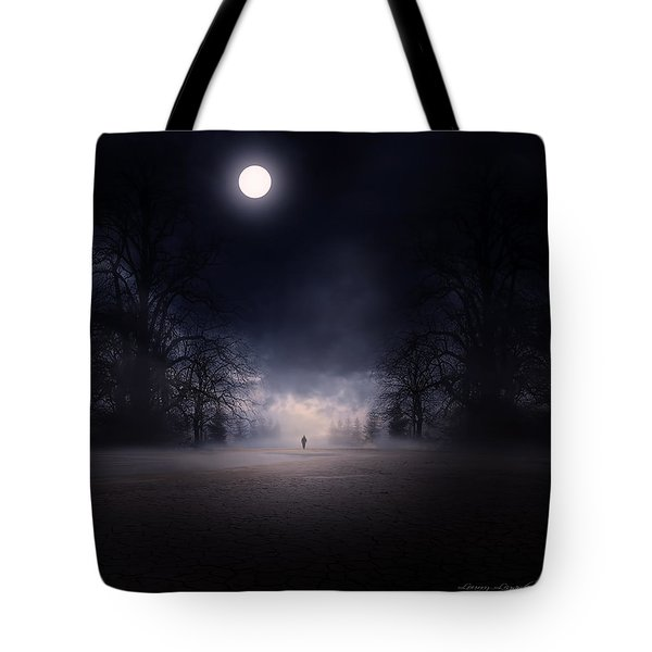 Moonlight Journey Tote Bag by Lourry Legarde