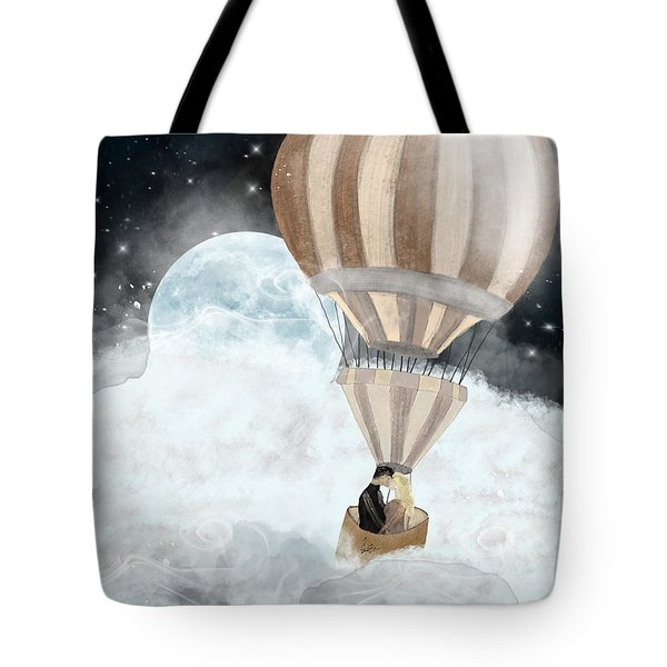Moonlight Kisses Tote Bag