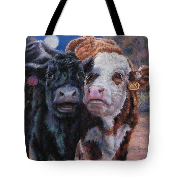 Moonlight Mooraoke Tote Bag
