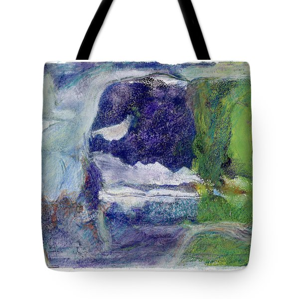 Moonlight Mountain Tote Bag