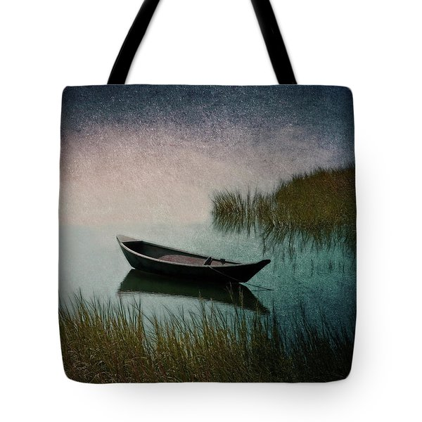 Tote Bag featuring the photograph Moonlight Paddle by Brooke T Ryan