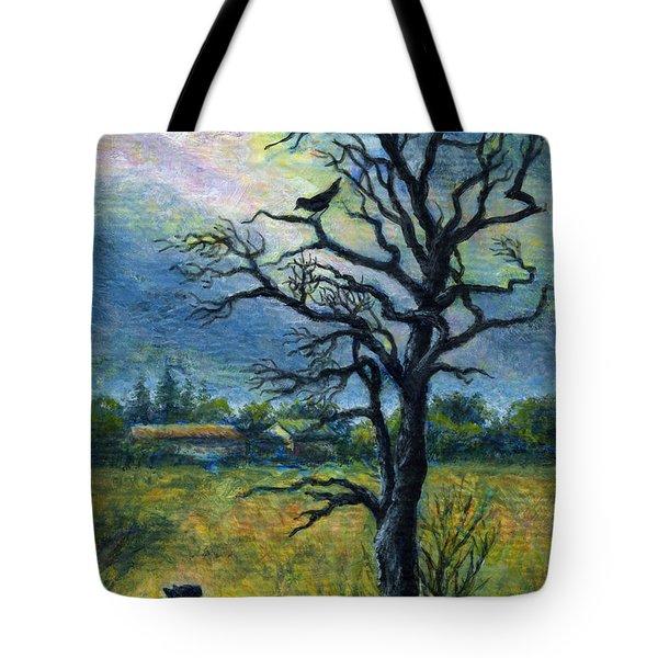 Moonlight Prowl Tote Bag