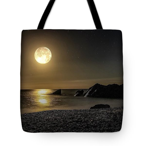 Moonlight Reflection  Tote Bag