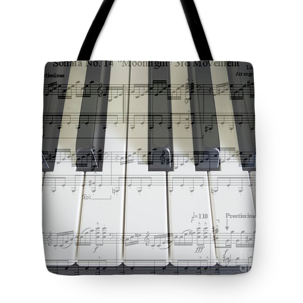 Moonlight Sonata 3rd Movement Tote Bag