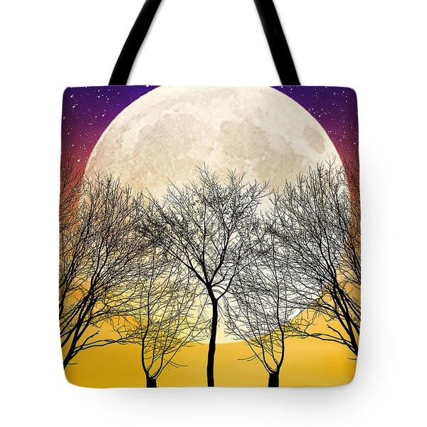 Moonlight Tote Bag by Swank Photography