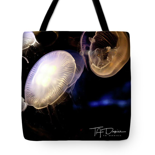 Tote Bag featuring the photograph Moonlight by T A Davies