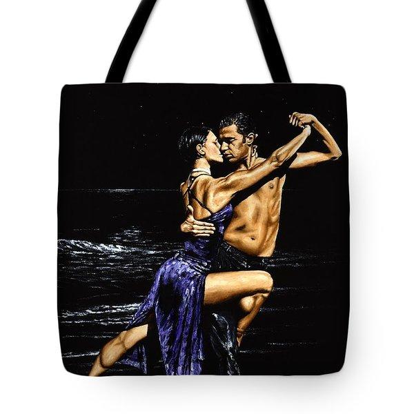 Moonlight Tango Tote Bag