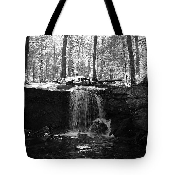 Moonlight Waterfall Tote Bag