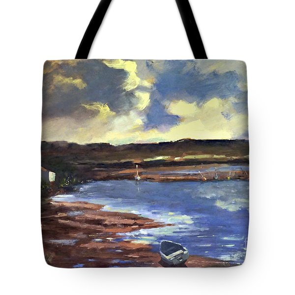 Moonlit Beach Tote Bag